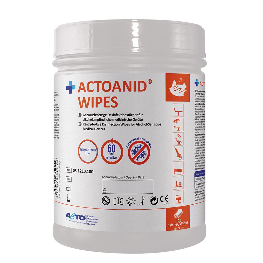 Actoanid Wipes EN DE 100pcs