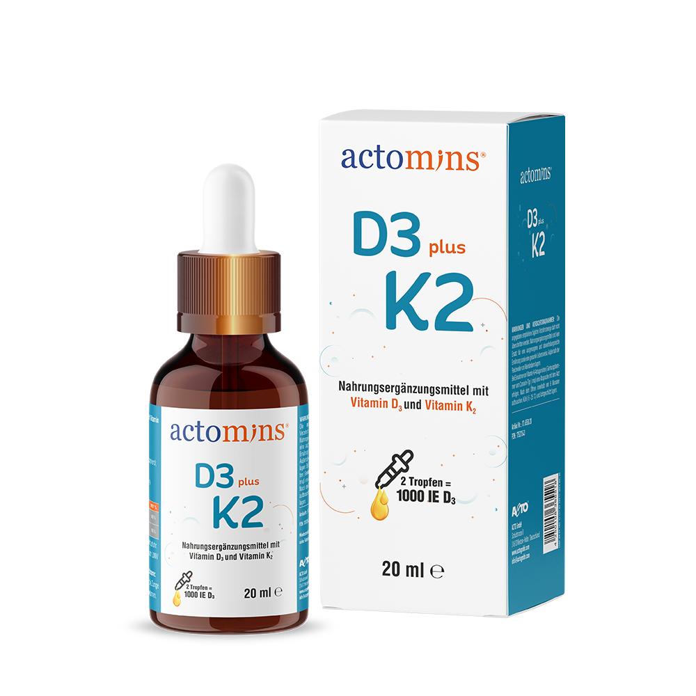 Actomins d3 plus k2 DE