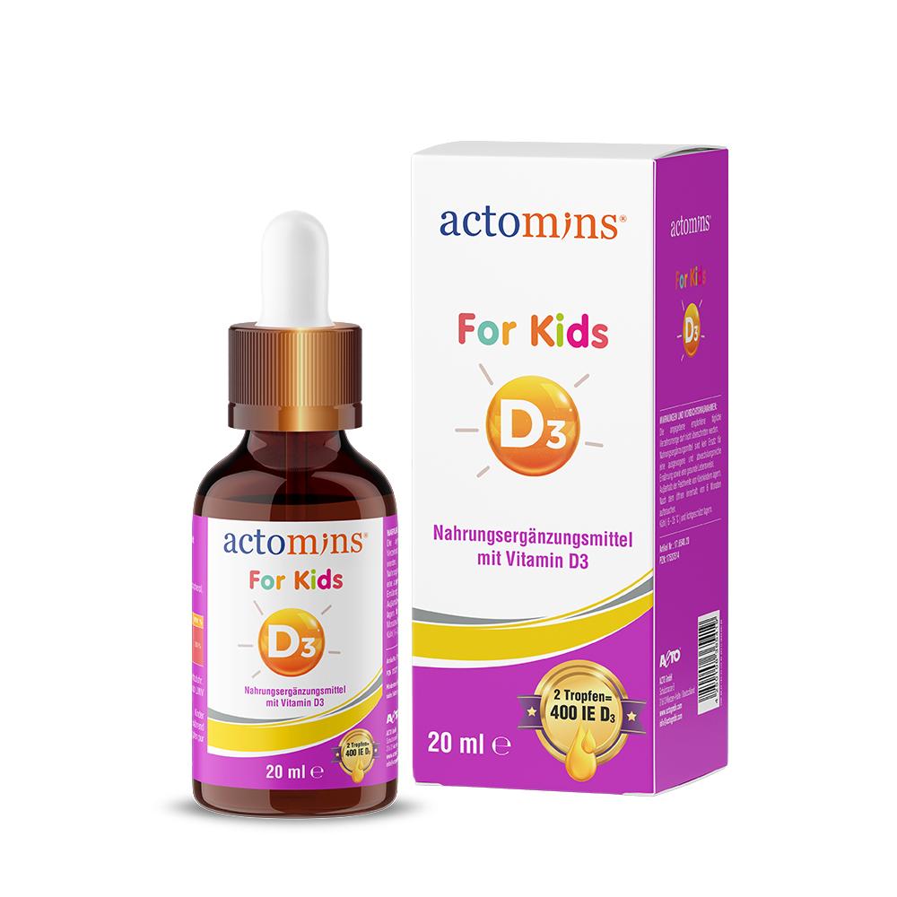 Actomins For Kids D3 20ml DE