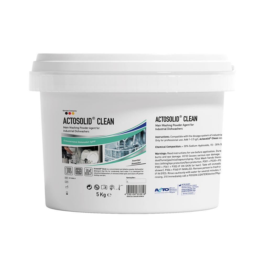 Actosolid Clean 5 kg EN