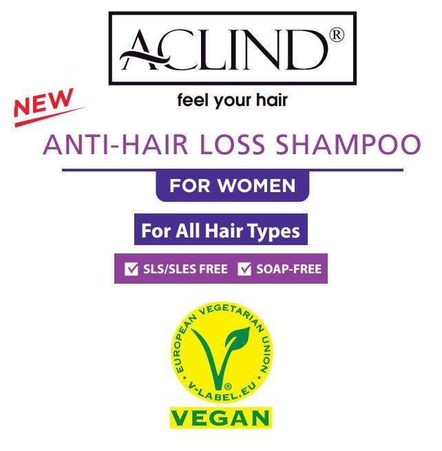 aclind shampo woman