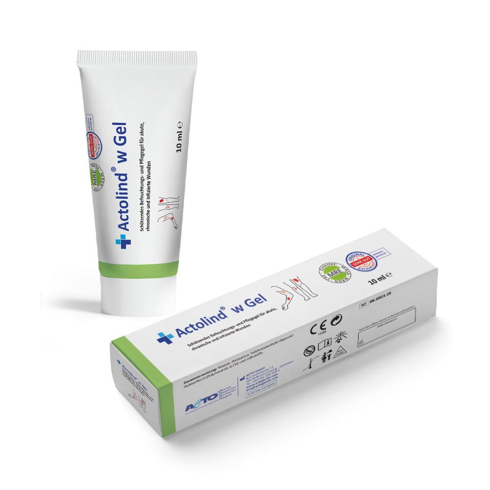 actolind w gel 10ml