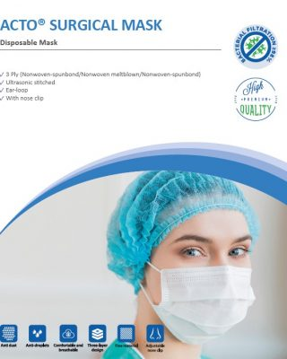 Acto Surgical Mask catalog